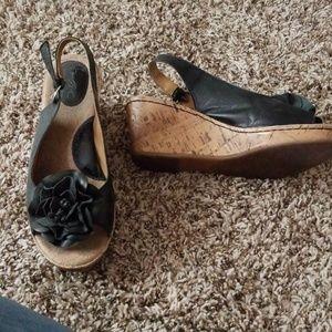 B.O.C Strappy cork sandals